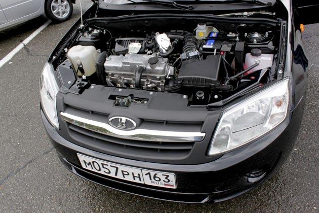 Двигатель Лады Гранта фото