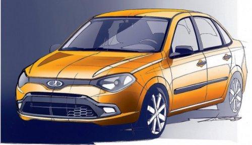 Новая модель АвтоВАЗа получила имя Lada Granta