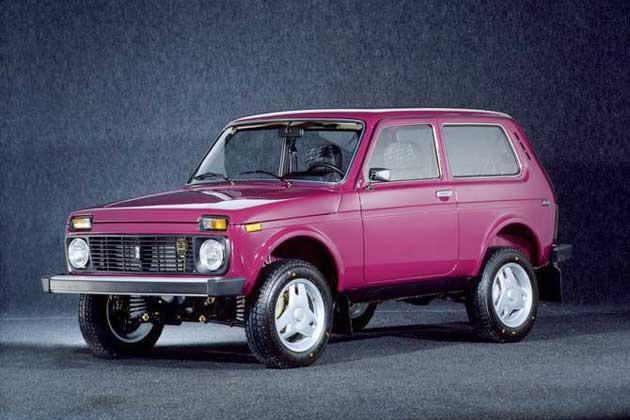 Lada 4x4 может получить дизайн от Pininfarina