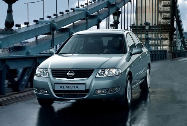 Обновленный Nissan Almera Classic будет выпускаться под маркой Lada