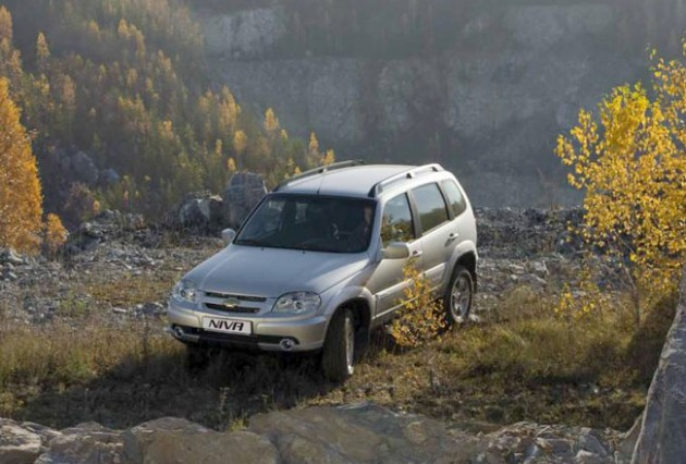 GM-АвтоВАЗ вновь поднял цены на Chevrolet Niva