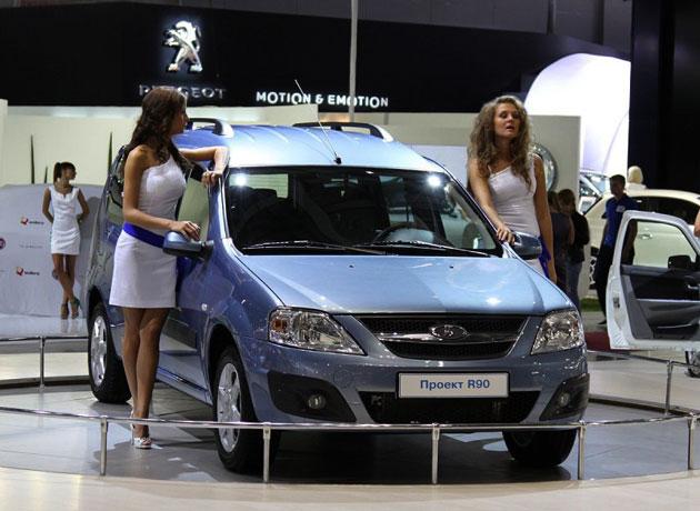 Новая Lada R90 появится в 2012 году