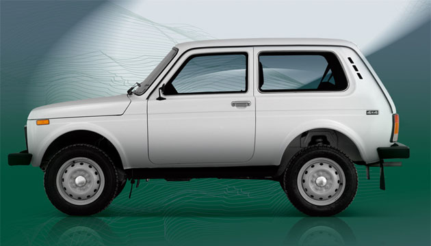 Бразилия заинтересовалась выпуском Lada 4x4