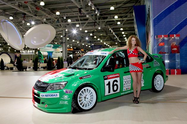 Lada Granta Sport на Интеравто-2011