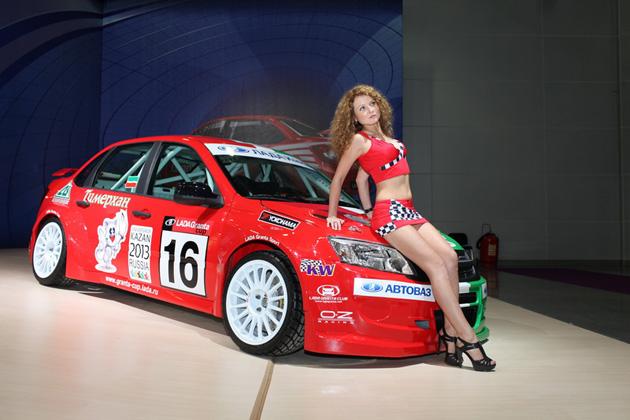 Фото Лада Гранта Спорт на Интеравто 2011