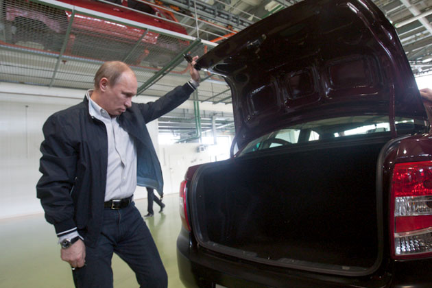 Владимир Путин высказал свое мнение о Ладе Гранта