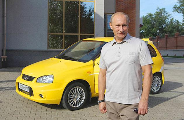 Владимир Путин протестировал Lada Kalina Sport