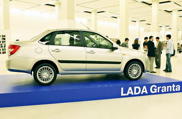 Названы цены на новую Lada Granta
