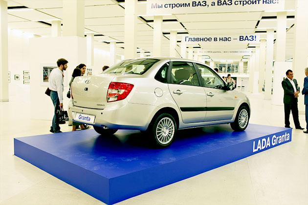 Новую Lada Granta представят на Украине