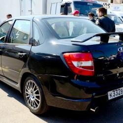 Прототип гражданской Лада Гранта Спорт засветился в Мячково