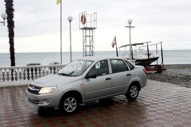 Тест-драйв Лады Гранта в Сочи от Газета.Ru