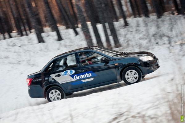 Lada Granta на тест-драйве 66.ru