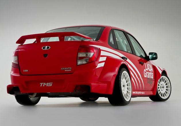 Lada Granta Sport отметится в WTCC в 2012 году