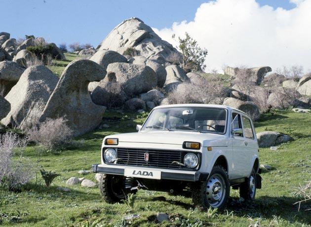 Lada в Африке