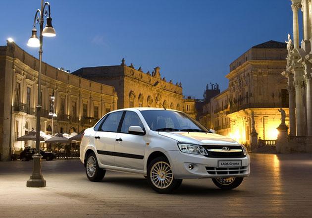 Прием заказов на люксовую Lada Granta начнется в июне-июле