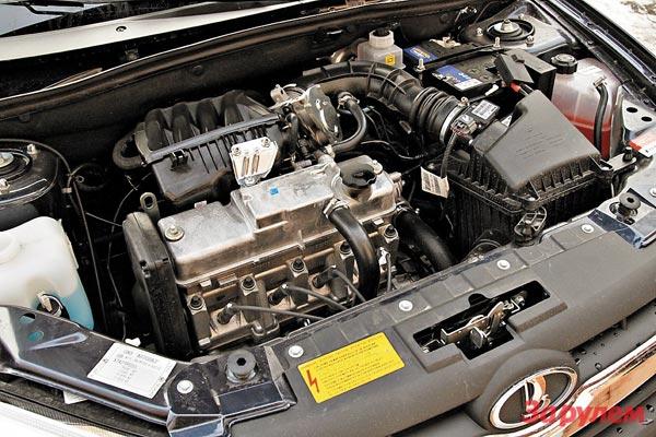 Мотор Лады Гранта