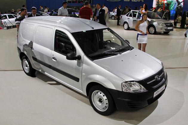 Lada Largus фургон фото