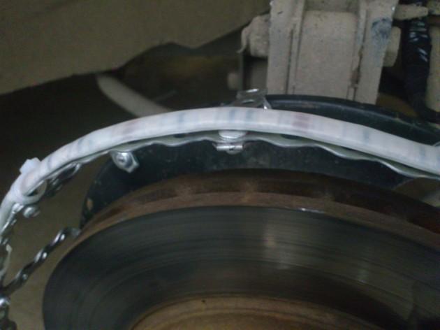 Делаем подвестку дисков Лада Гранта