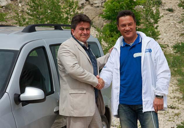 Паскаль Мийо (слева) и Михаил Рябов (справа)