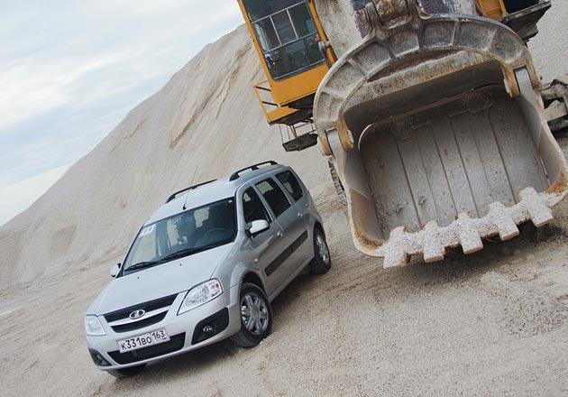 Кузов нового универсала практически целиком производится в России