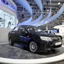АвтоВАЗ представил Гранта Спорт на автосалоне в Москве 2012