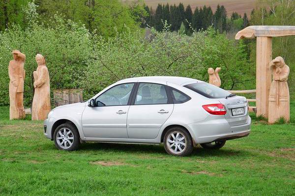 Новая Lada Granta Liftback