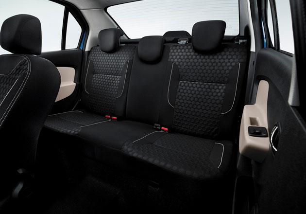 Интерьер Renault Logan II